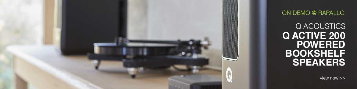 Rapallo   Q Acoustics Q Active 200 Powered Bookshelf Speakers