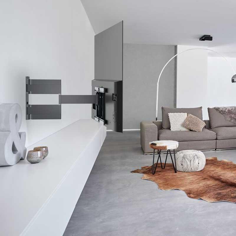 Rapallo | Vogel's THIN 546 ExtraThin Full-Motion TV Wall Mount for OLED TVs (black)