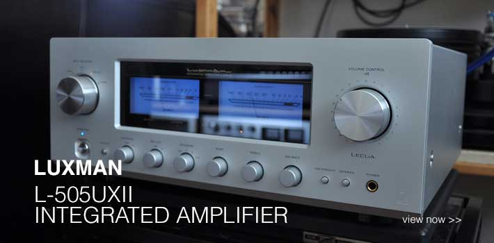 Rapallo | Luxman L-505uXII Integrated Amplifier