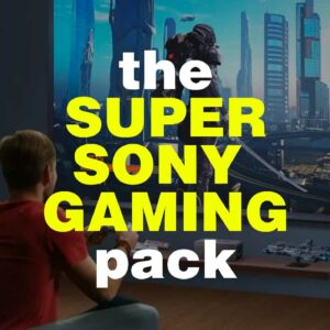 The Sony Gaming Pack – Sony VPL-VW270ES 4K