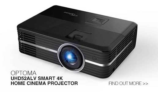 Rapallo | Optoma UHD52ALV Smart 4K Home Cinema Projector