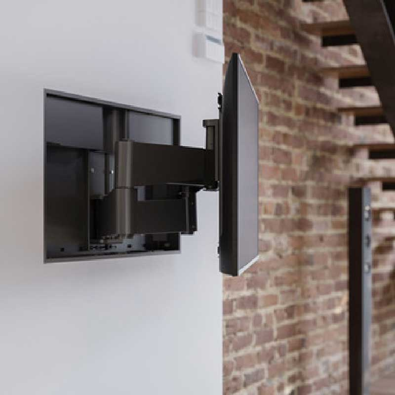"""Rapallo   Nexus 21 APEX Motorized Articulating TV Wall Mount For Up to 80"""" TV"""