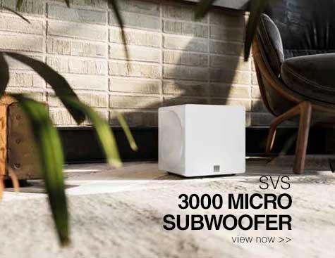 Rapallo | SVS 3000 Micro Subwoofer