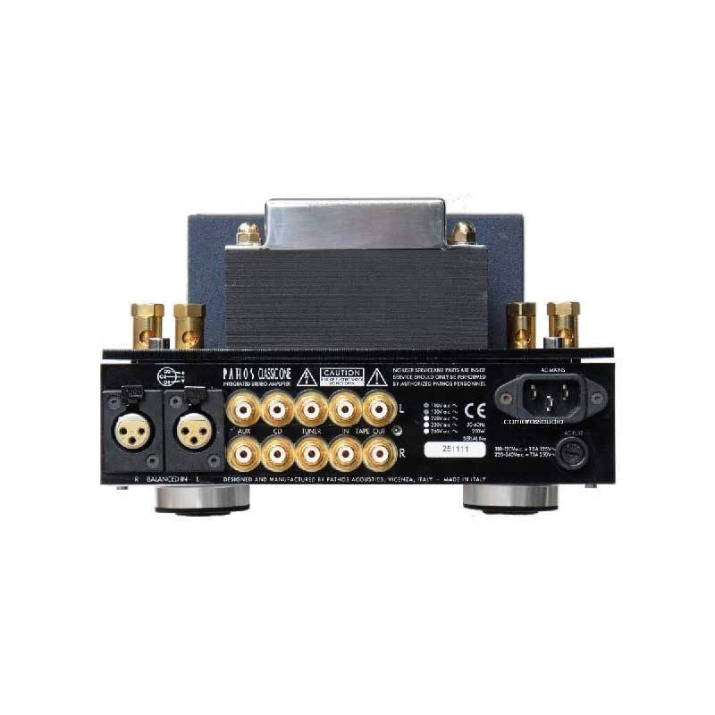 Rapallo | Pathos Acoustics Classic One MKII Hybrid Integrated Power Amplifier