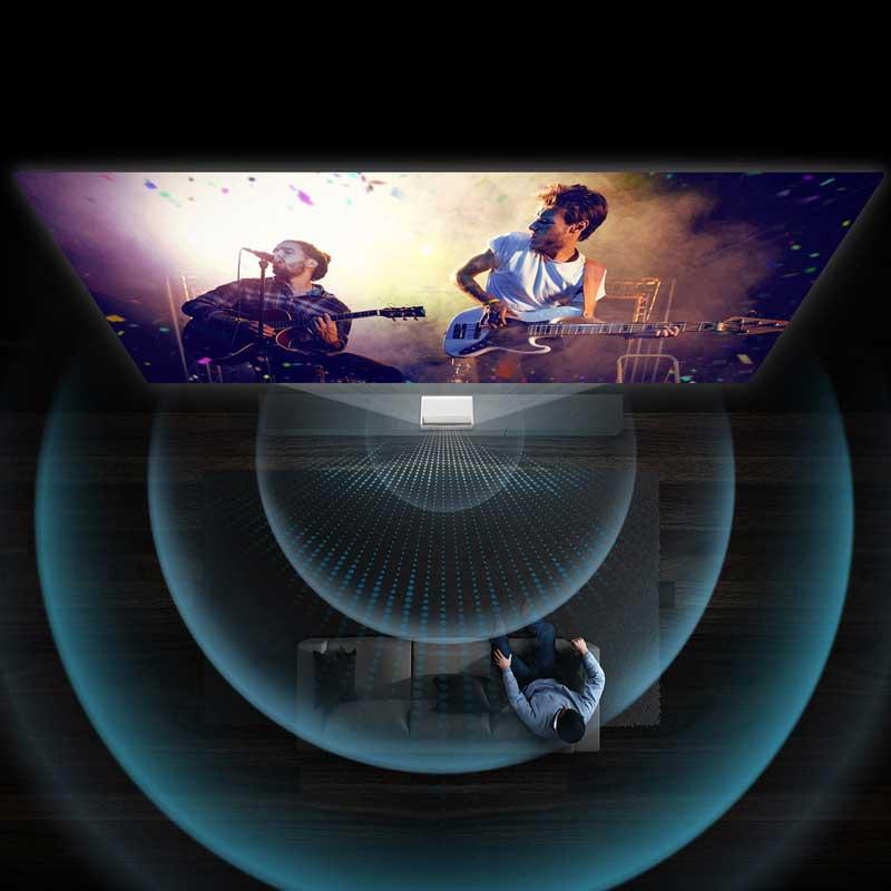 Rapallo | Samsung LSP9T The Premiere Triple Laser 4K Smart UST Projector