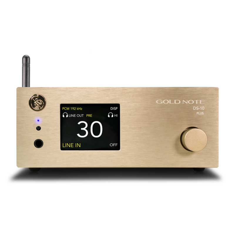 Rapallo | Gold Note DS-10 PLUS Streaming DAC / Preamplifier
