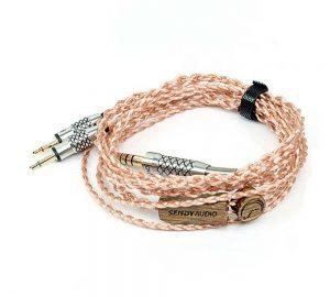 Rapallo | SendyAudio AIVA headphone cable 6N OCC - 4.4mm balanced plug