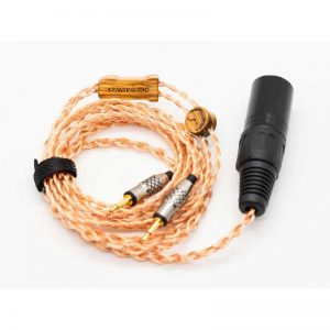 Rapallo | SendyAudio AIVA headphone cable 6N OCC - 4 pin XLR plug