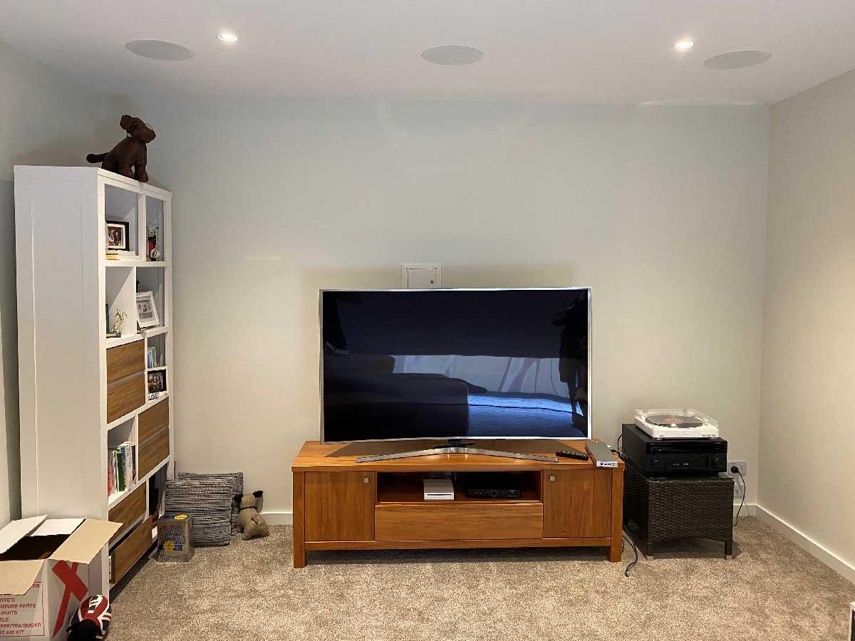 Rapallo | Custom Built Media Room Unit