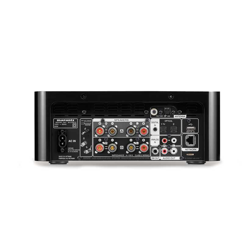 Rapallo | Marantz M-CR612 Network CD Receiver Featuring HEOS, FM/AM, Bluetooth, Airplay 2 & Voice Control