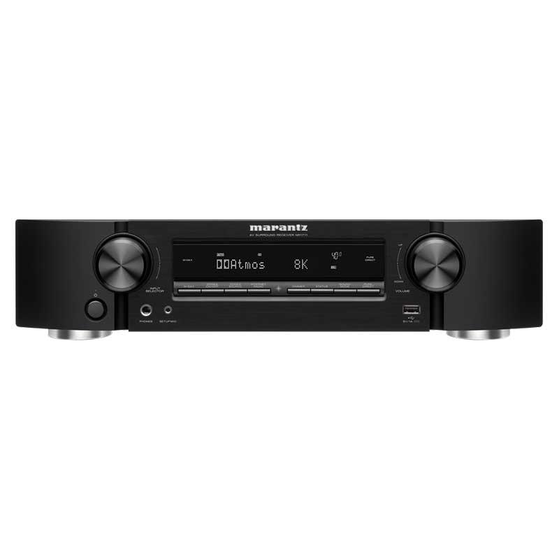 Rapallo | Marantz NR1711 Slim 7.2ch 8K Ultra HD AV receiver With HEOS® Built-In