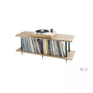 Rapallo | Solidsteel VL Series Vinyl Record Storage & HiFi Rack